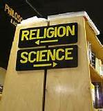 religion science part ways