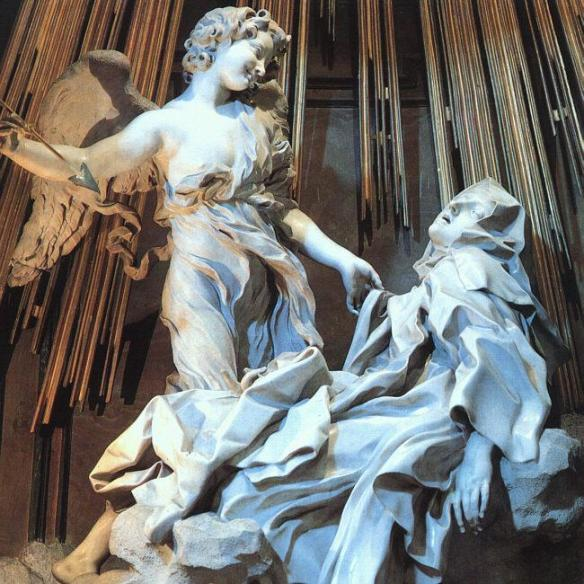Ecstasy of St. Theresa [credit: Wikimedia Commons, author Napoleon Vier]